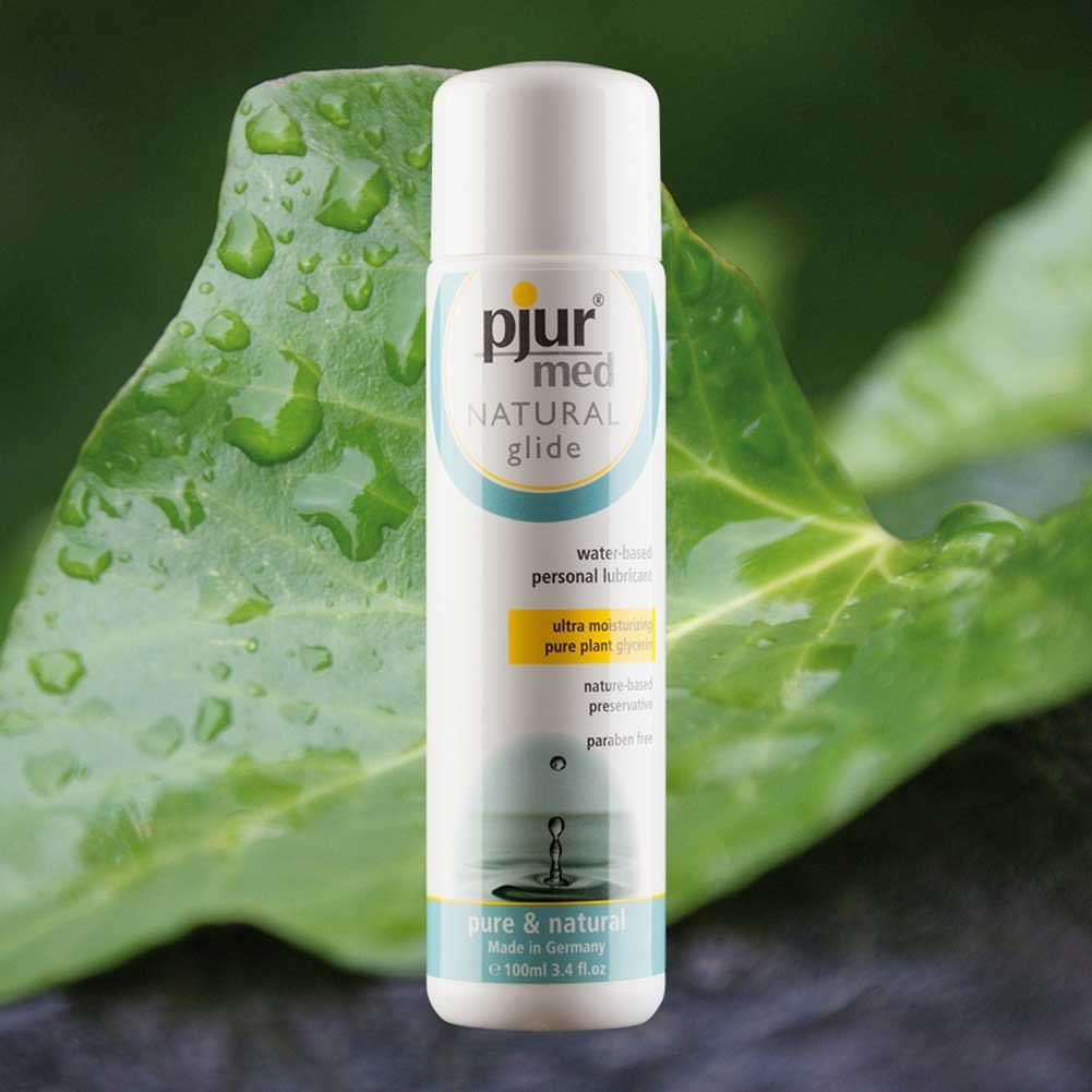 Pjur Med Natural Glide Water Based Personal Lubricant 3.4 Fl.Oz 100 mL - View #3