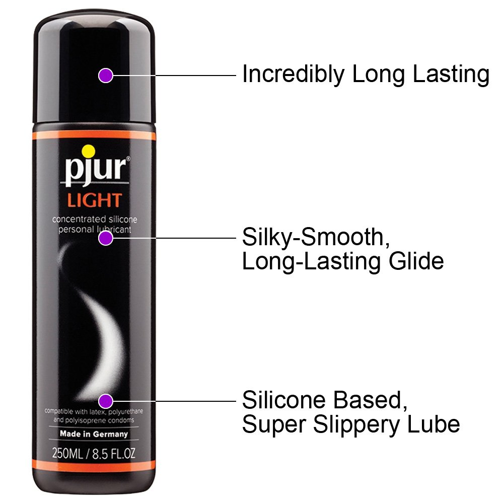 Pjur Eros Light Love Bodyglide Silicone Lube 8.5 Fl. Oz. - View #1
