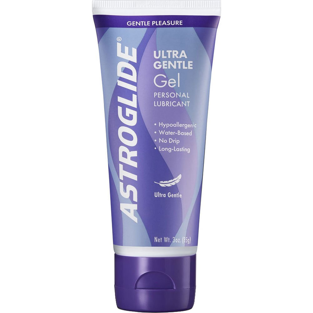 Astroglide Sensitive Skin Ultra Gentle Gel Personal Lubricant 3 Fl.Oz 90 mL - View #1
