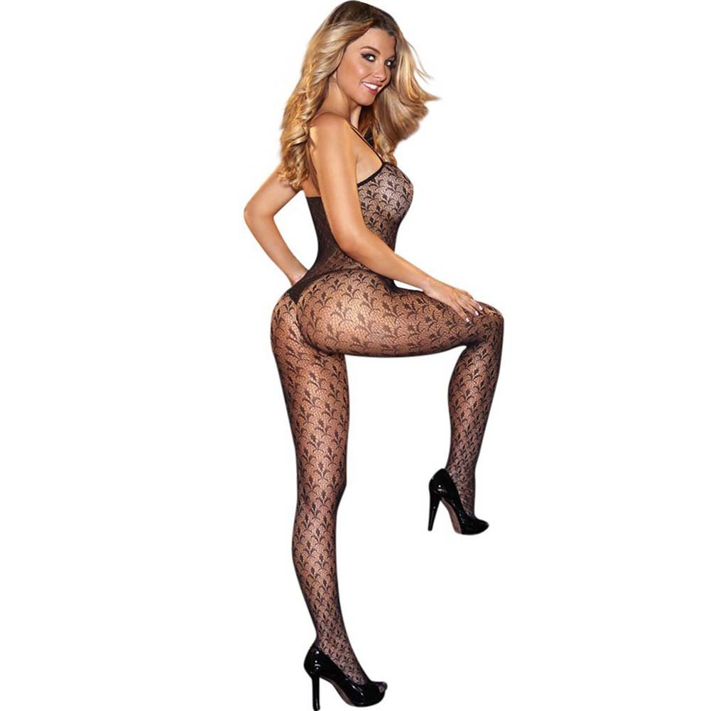 Hustler Crotchless Bodystocking - View #2
