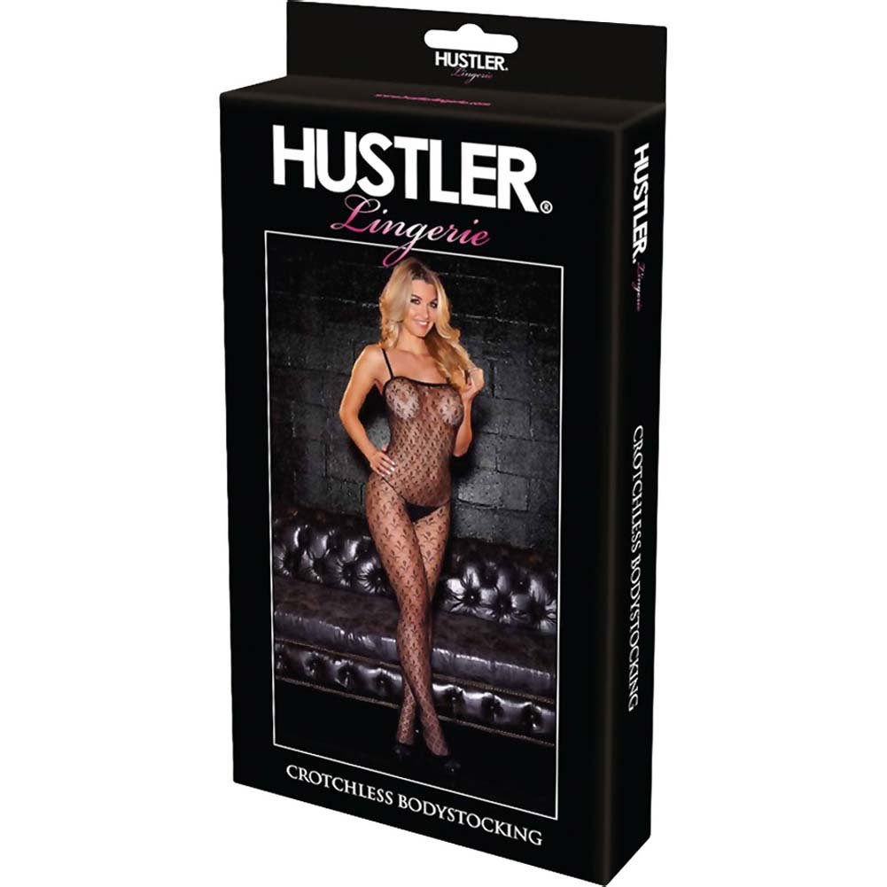 Hustler Crotchless Bodystocking - View #4