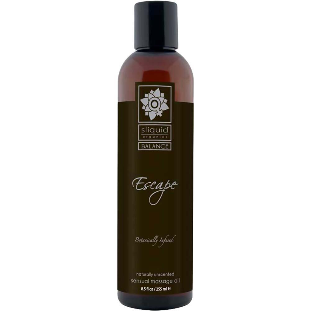 Sliquid Organics Massage Oil 8.5 Fl. Oz. Escape Unscented - View #1