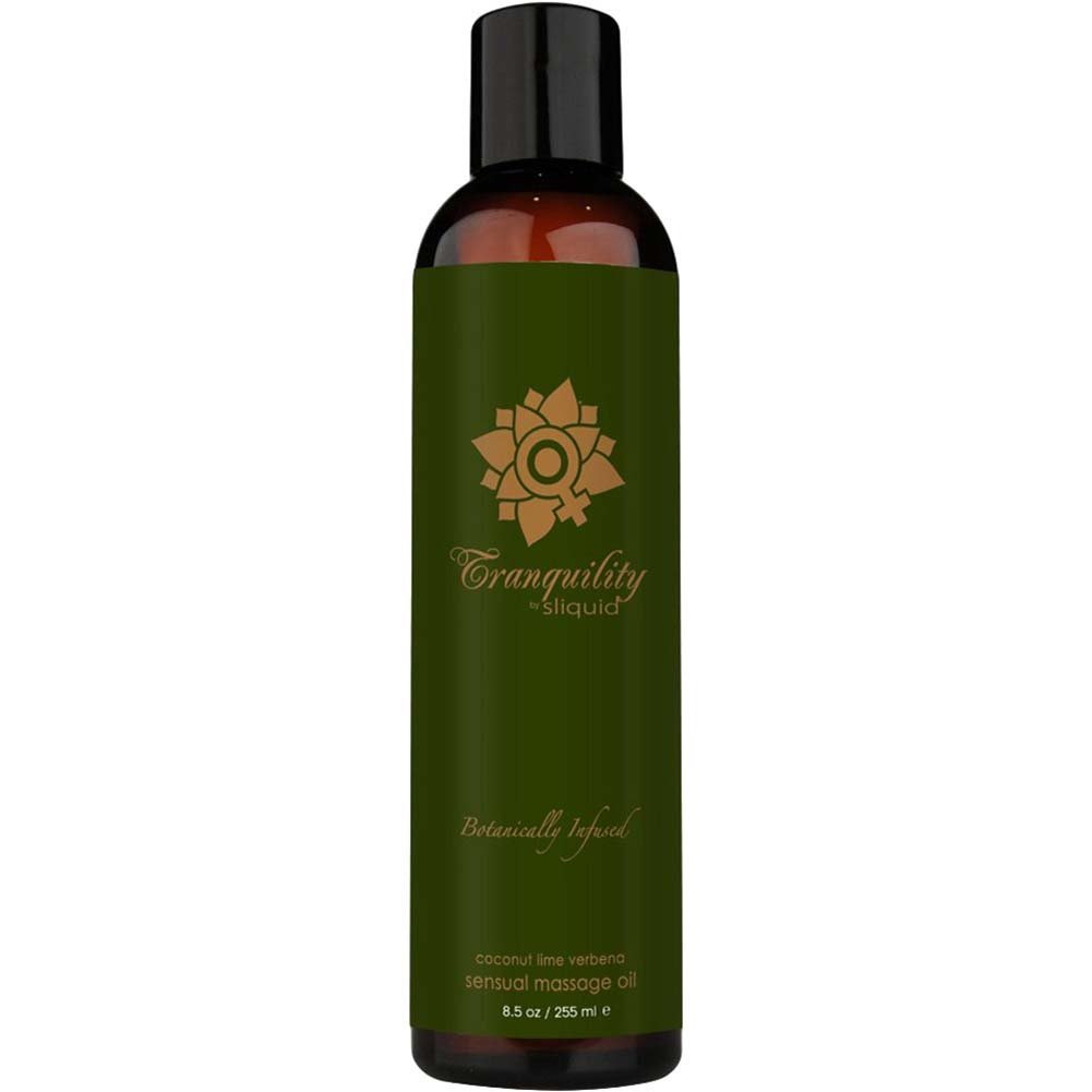 Sliquid Organics Massage Oil Tranquility 8.5 Fl. Oz. - View #1