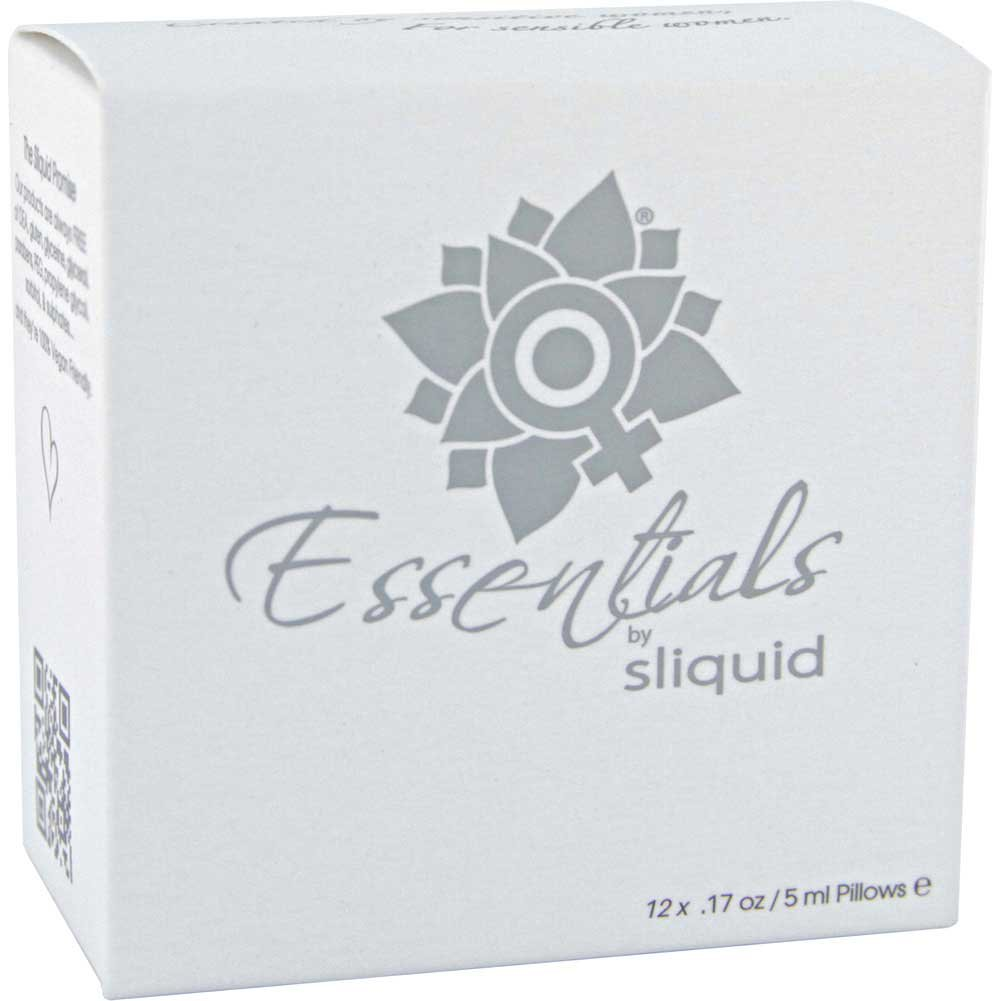Sliquid Natural Essentials Lube Cube Sampler 12 Packets - View #2