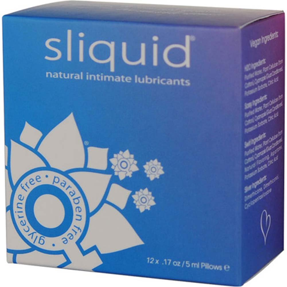 Sliquid Naturals Lube Cube Sampler 12 Packets - View #1