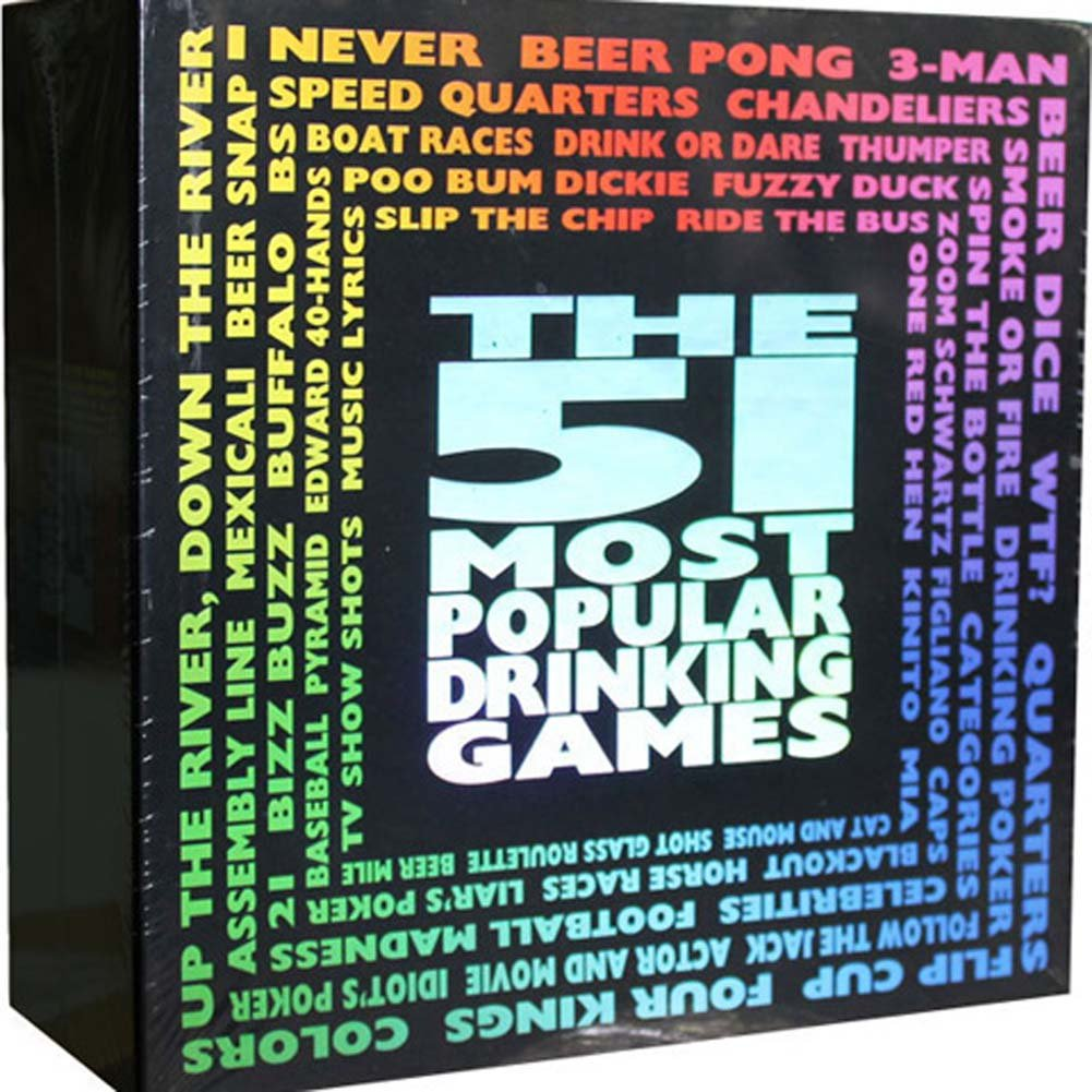51 Most Popular Drinking Games - View #2
