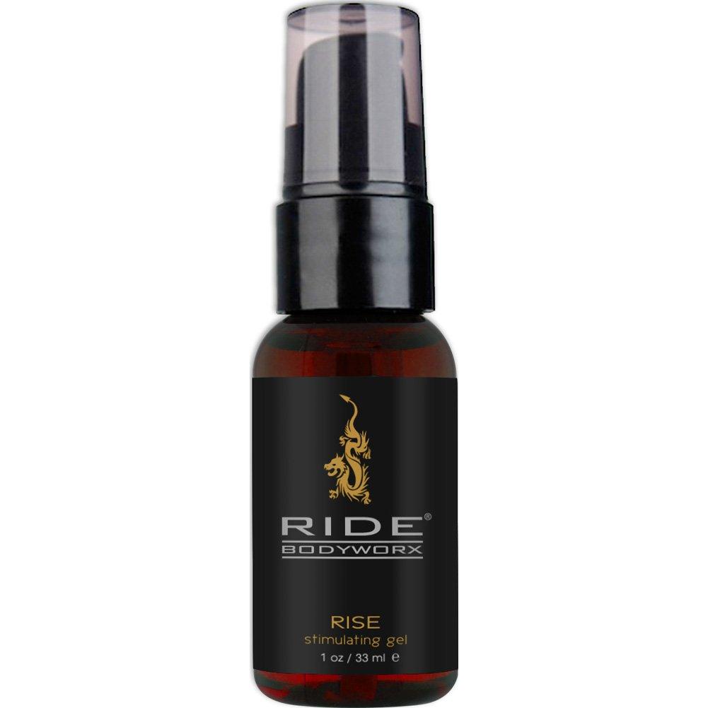 Ride BodyWorx Rise Stimulating Arousal Gel For Men 1 Fl.Oz 33 mL - View #2