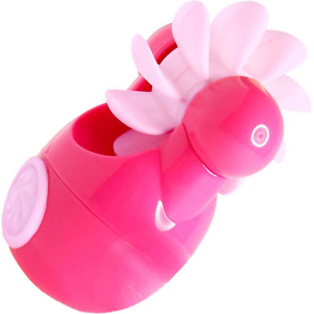 Sqweel GO Rechargeable Oral Sex Simulator for Women Pink - View #2
