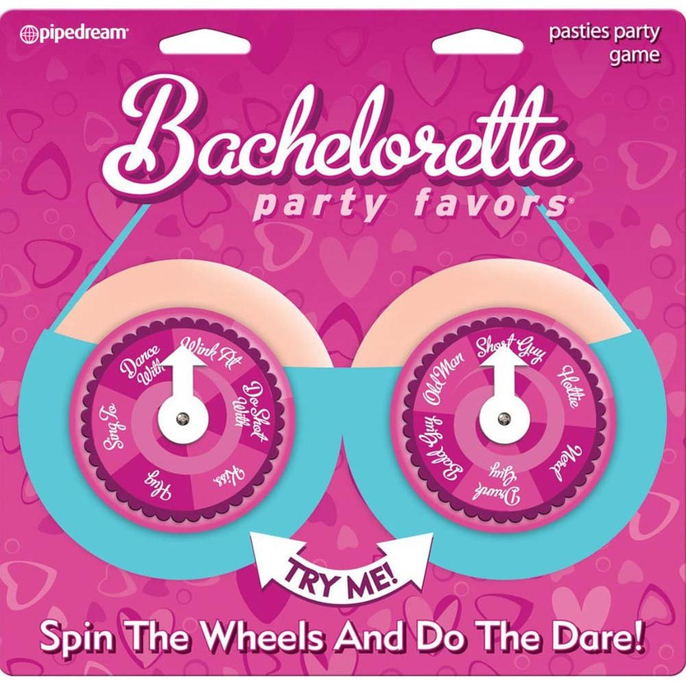 Bachelorette Party Favors Pasties Party Spinners - View #1
