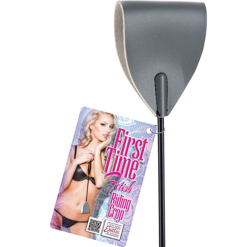 California Exotics First Time Fetish Riding Crop Gray - View #1