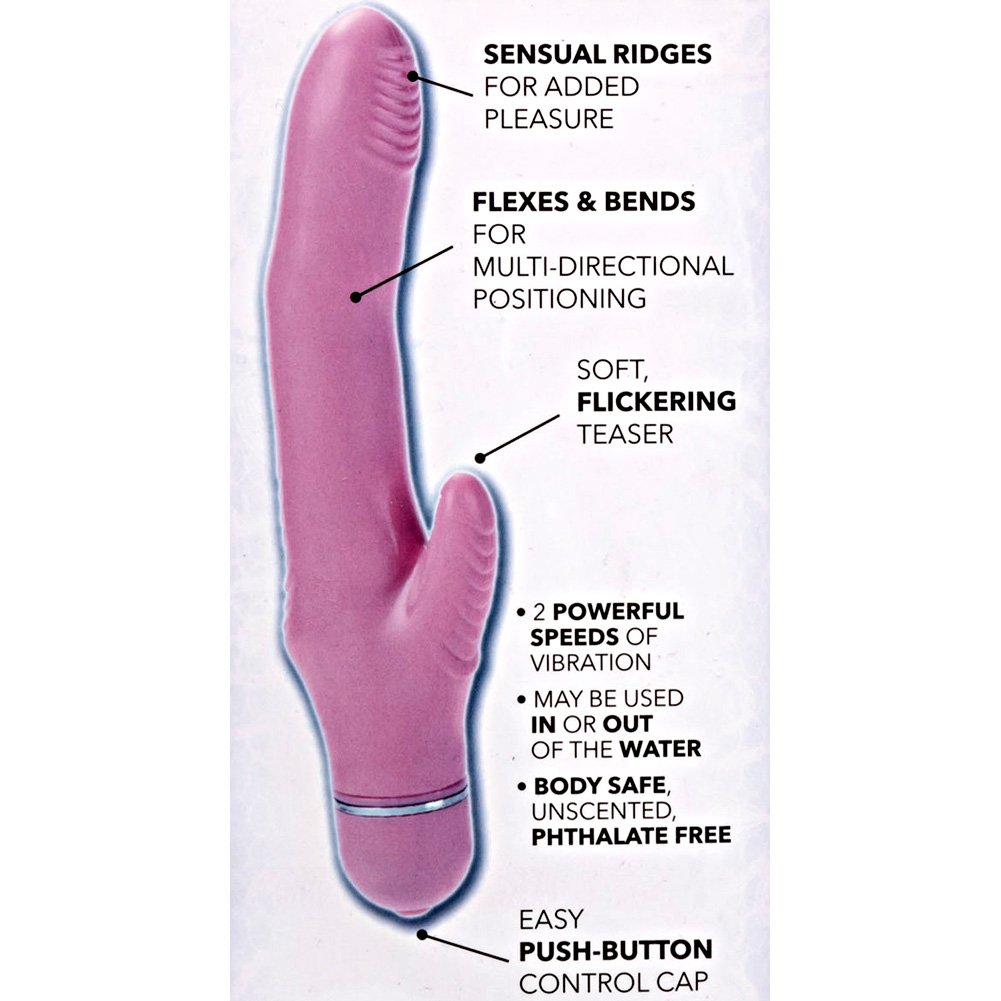 "California Exotics First Time Flexi Rocker Vibe 5"" Pink - View #1"