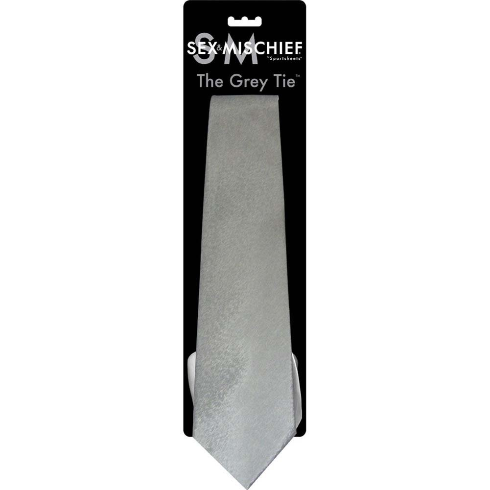 Sex and Mischief SM Grey Tie - View #1