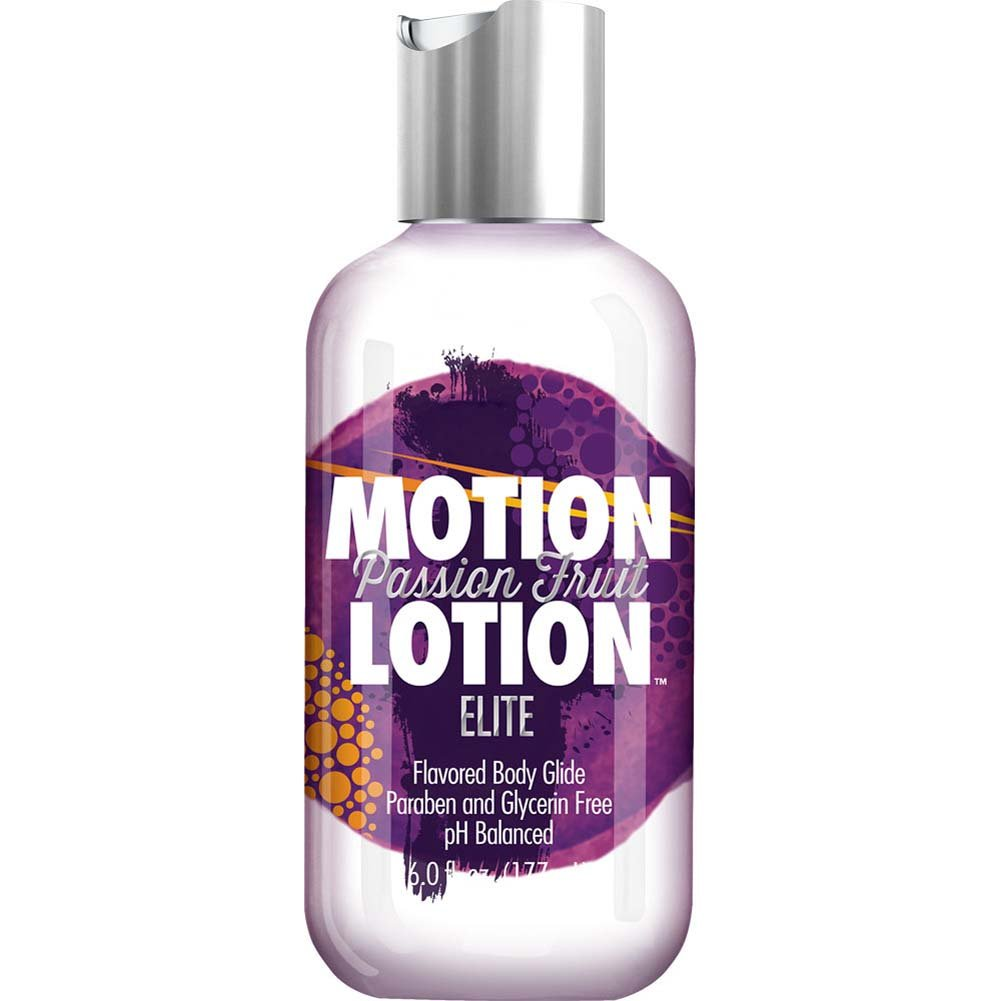 Motion Lotion Elite Body Glide Lubricant 6 Fl.Oz Passion Fruit - View #1