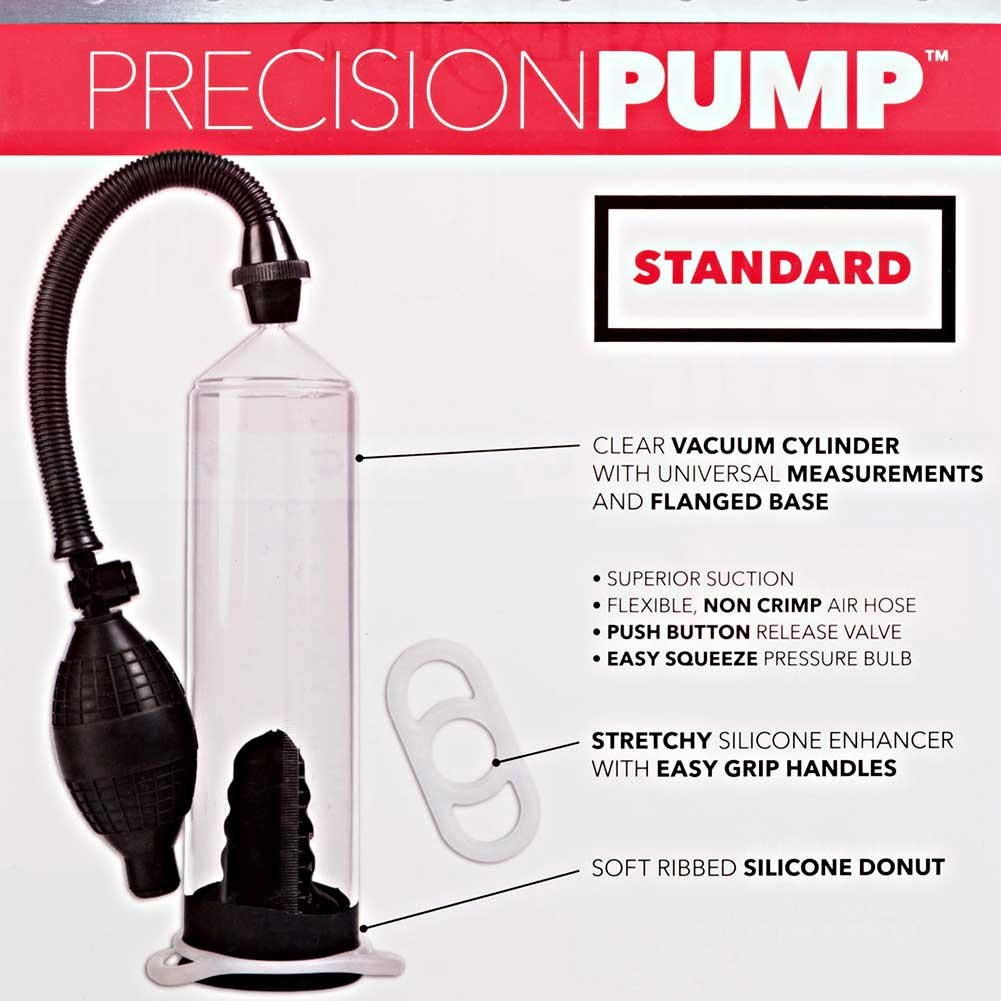 Precision Pump and Erection Enhancer Standard Edition Clear - View #1