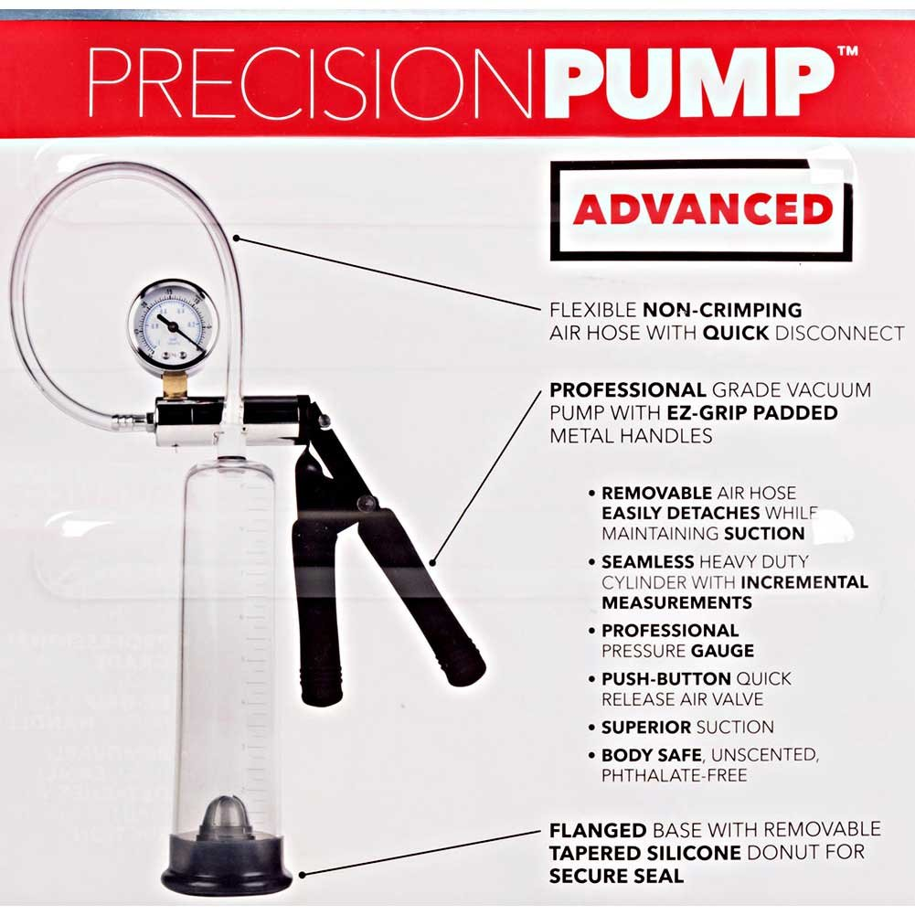 Precision Pump Advanced 1 Penis Pump Clear - View #1