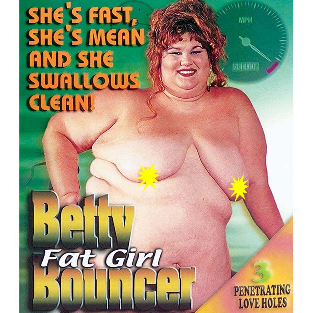 Betty Fat Girl Bouncer Love Doll - View #2