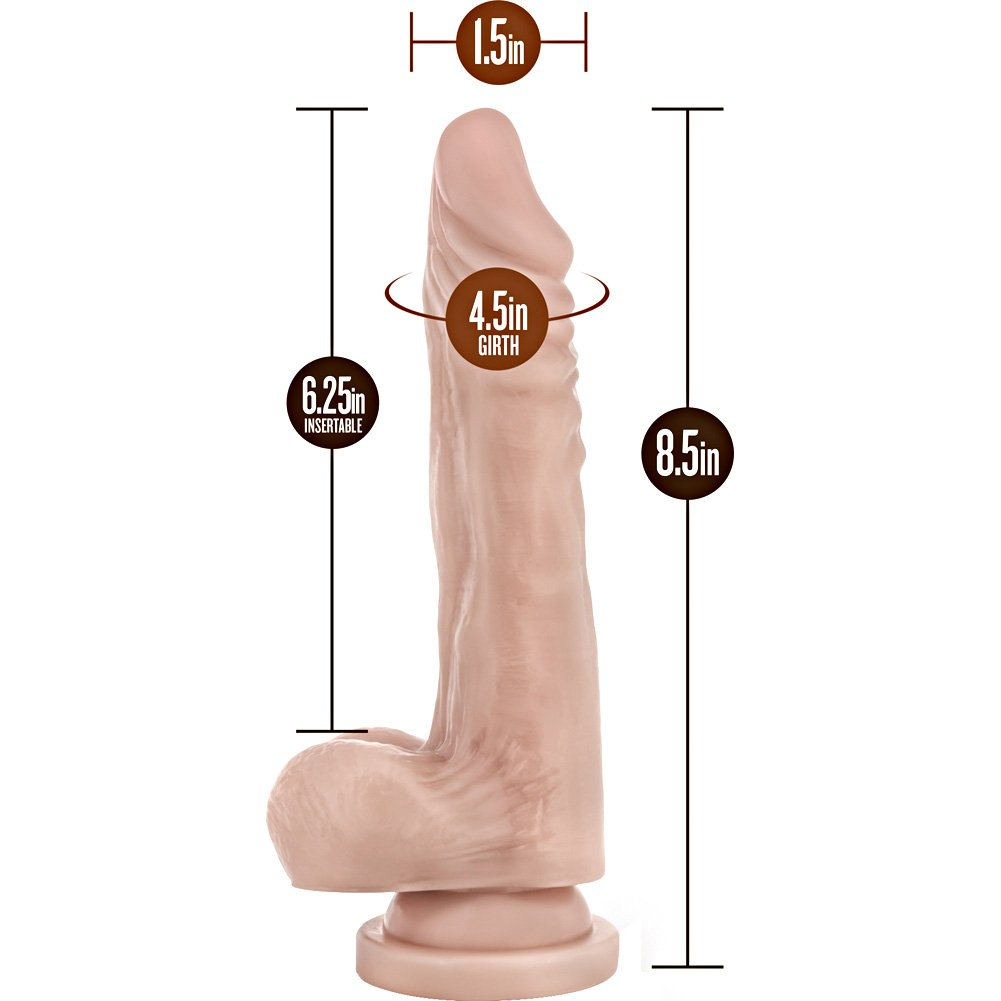 "Blush B Yours Stud Muffin Dong 8.5"" Natural - View #1"