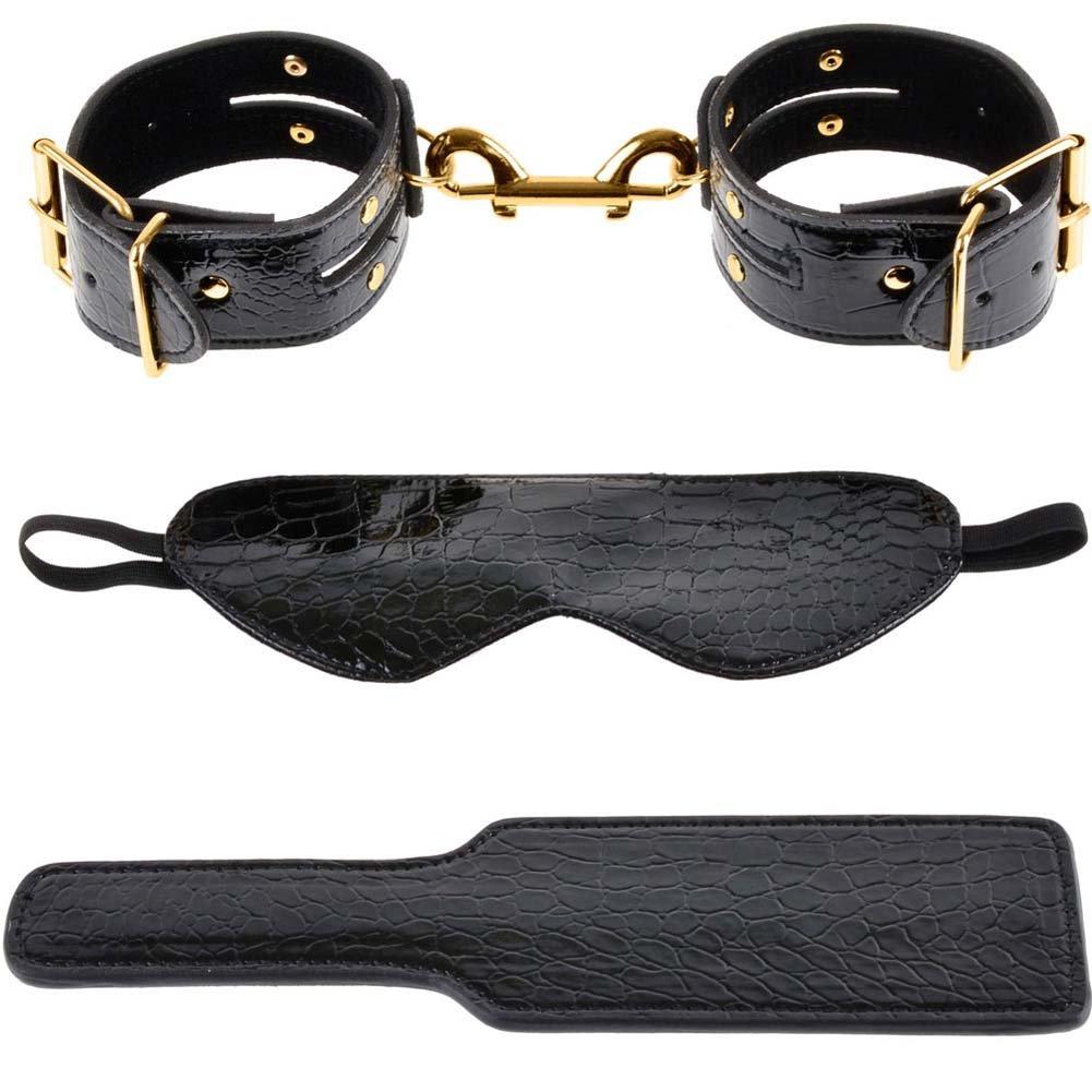 Fetish Fantasy Gold Fantasy Bondage Kit Black - View #3