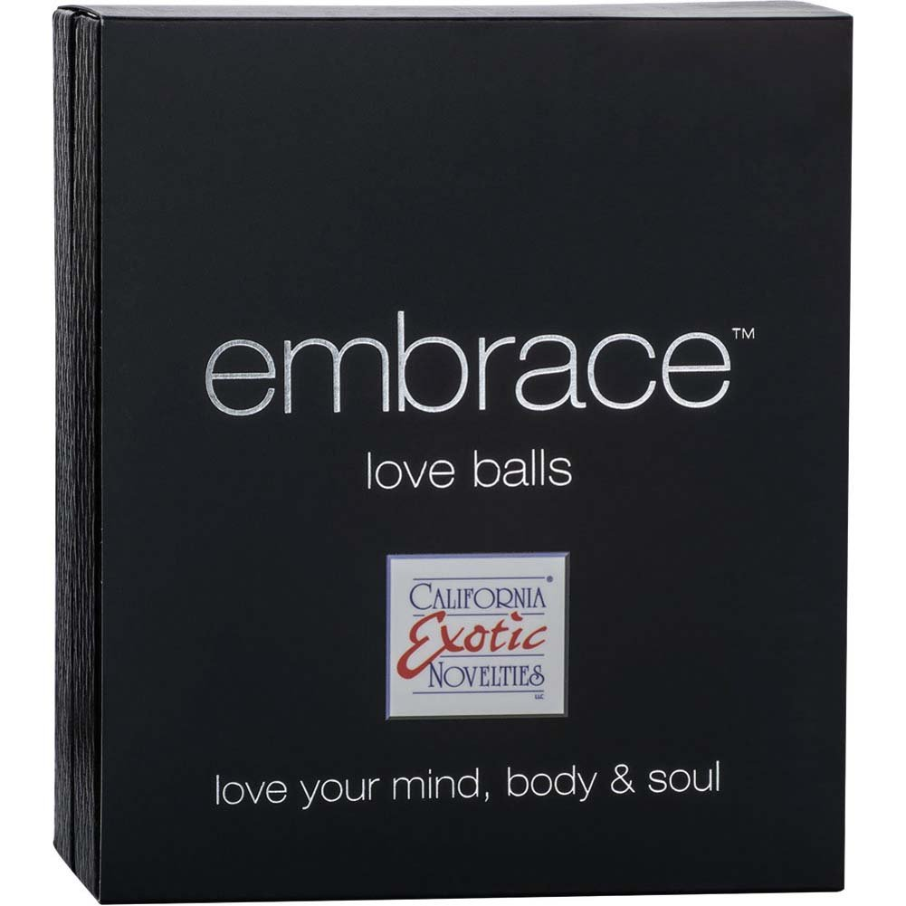 California Exotics Embrace Love Balls Silicone USB Rechargeable Purple - View #3