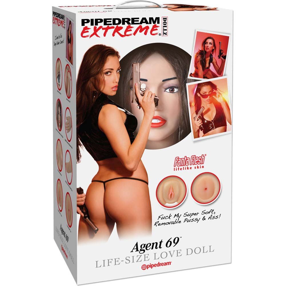 Pipedream Extreme Dollz Agent 69 Life-Size Love Doll - View #4