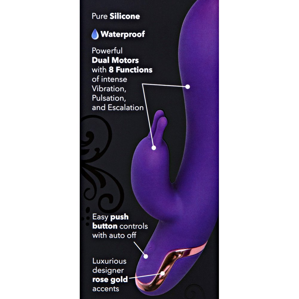 "California Exotics Entice Isabella Silicone Vibe 8.5"" Purple - View #1"