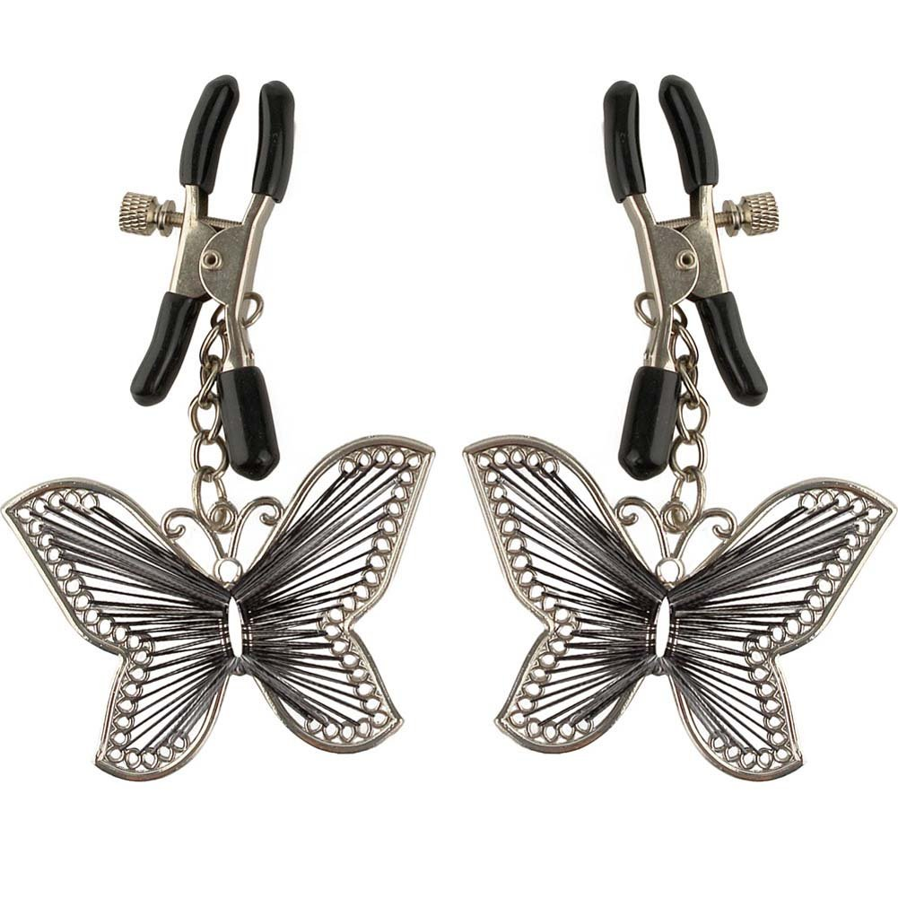 Fetish Fantasy Series Butterfly Nipple Clamps - View #2