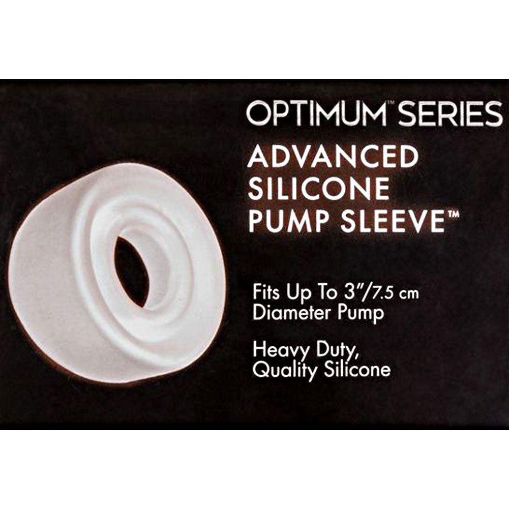 "Advanced Silicone Pump Sleeve 3"" Clear - View #1"