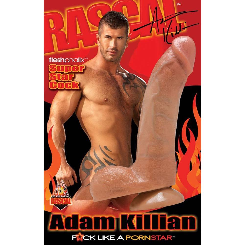 "Rascal Toys Adam Killian FleshPhallix Cock 9"" Natural - View #1"