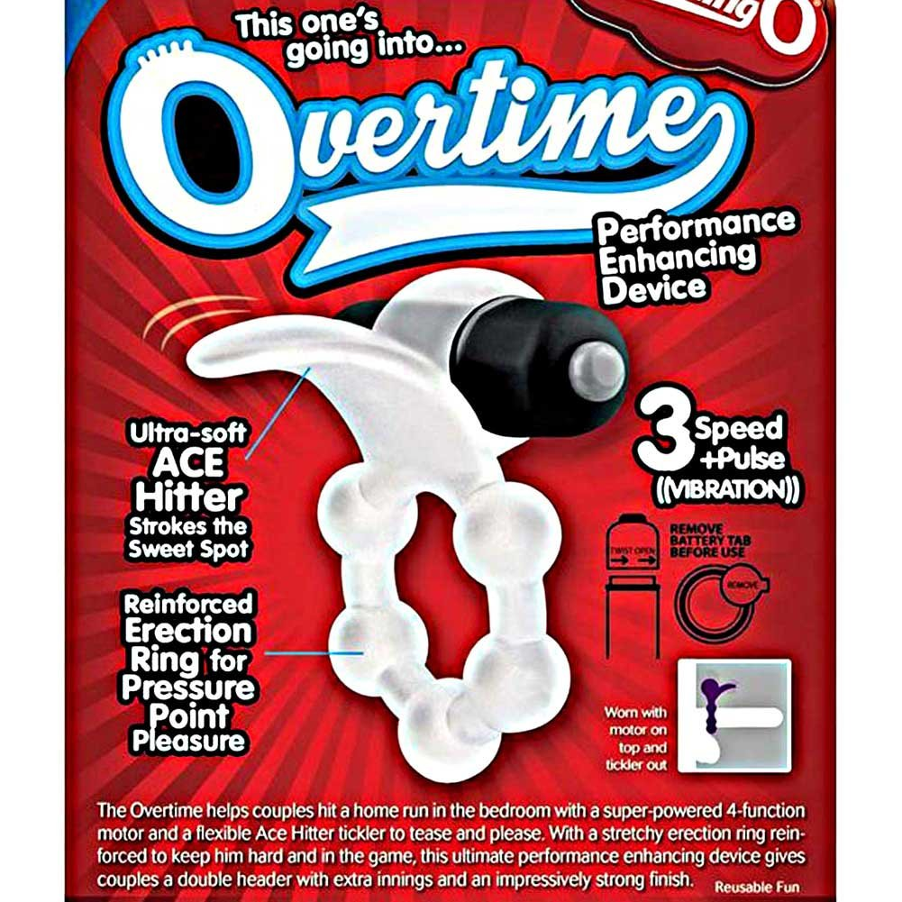 Screaming O Overtime Vibrating Erection Ring Black - View #1