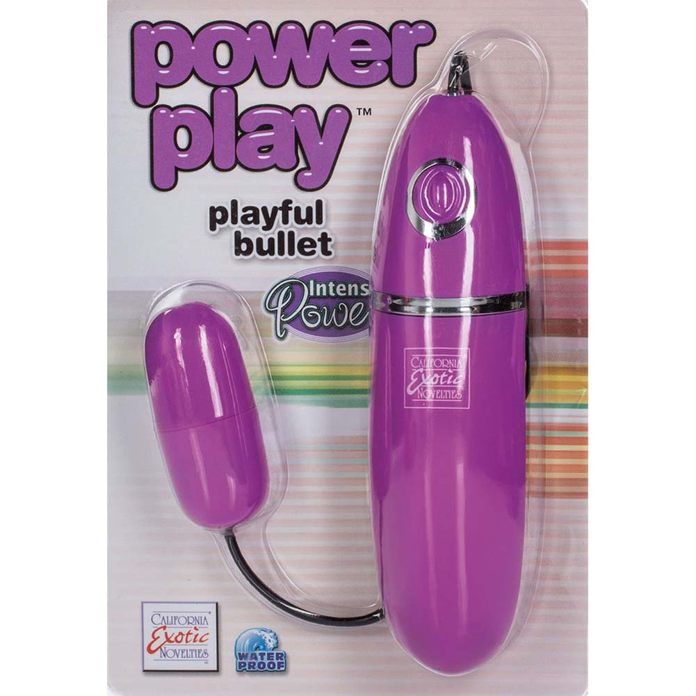 """Power Play Silicone Playful Bullet 2.25"""" Purple - View #1"""