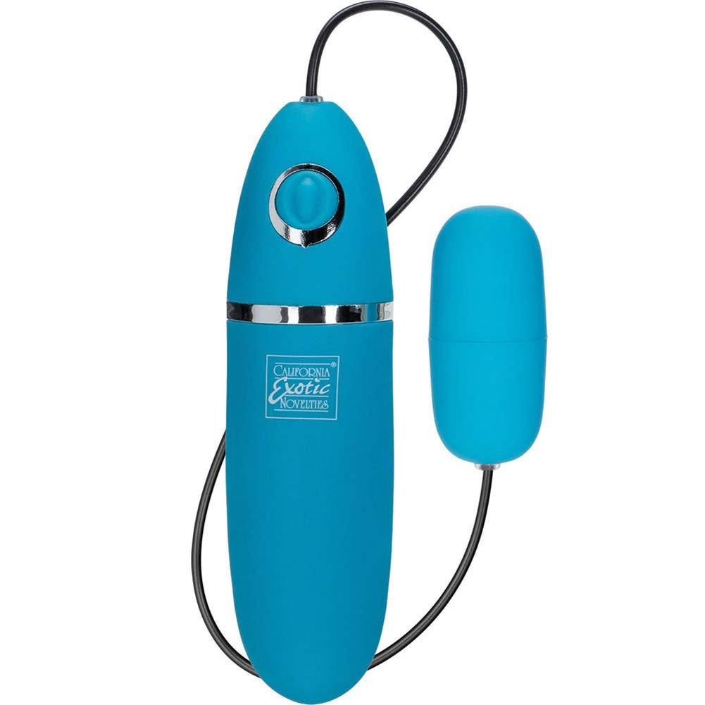 "Power Play Silicone Playful Bullet 2.25"" Teal - View #2"