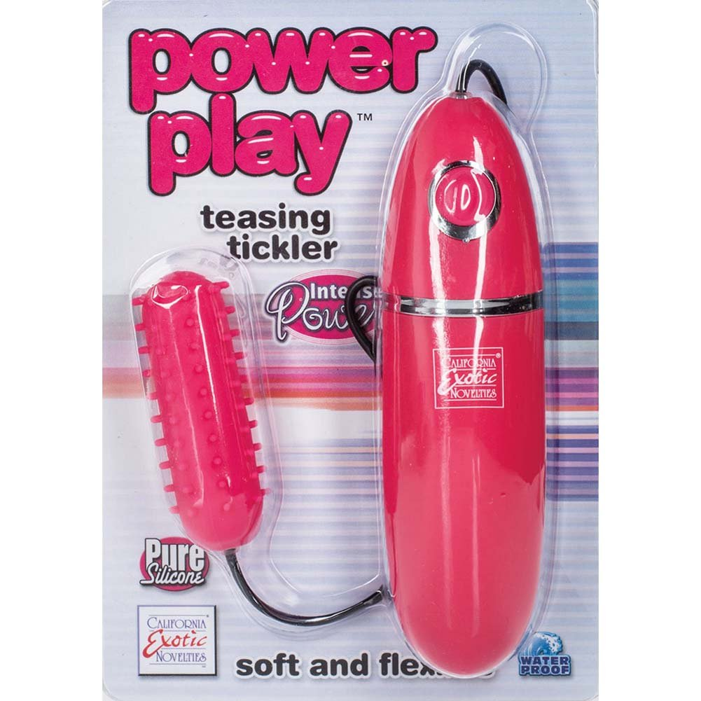 "Power Play Silicone Teasing Tickler 2.75"" Pink - View #1"