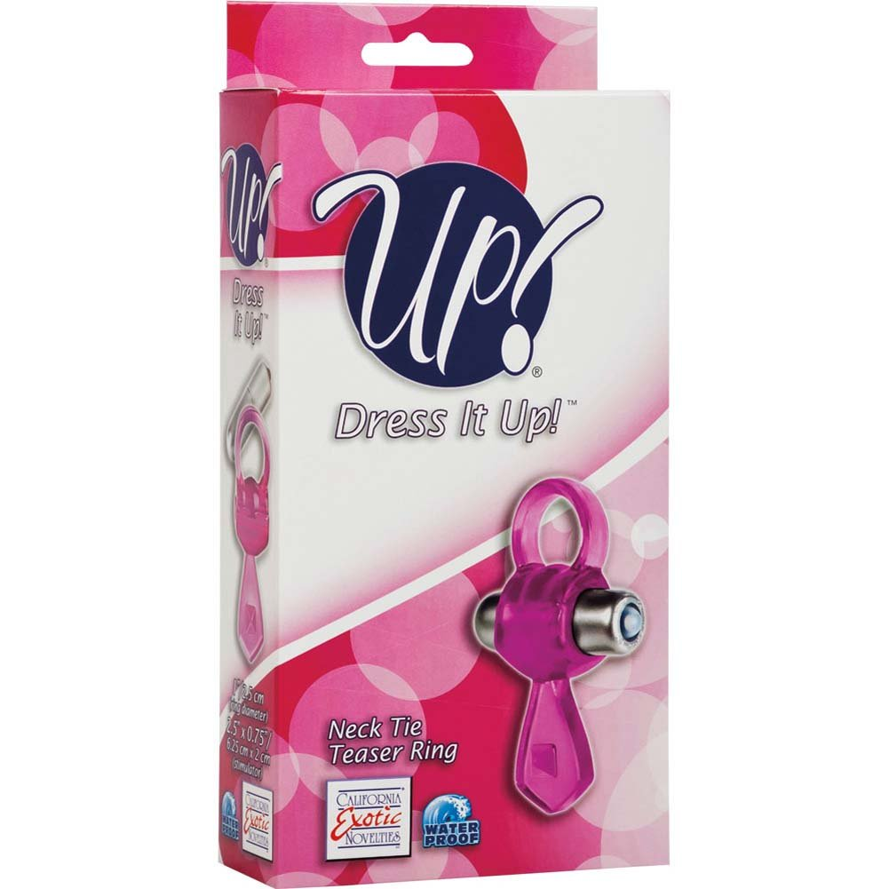 Up Dress It Up Neck Tie Teaser Ring Pink - View #1