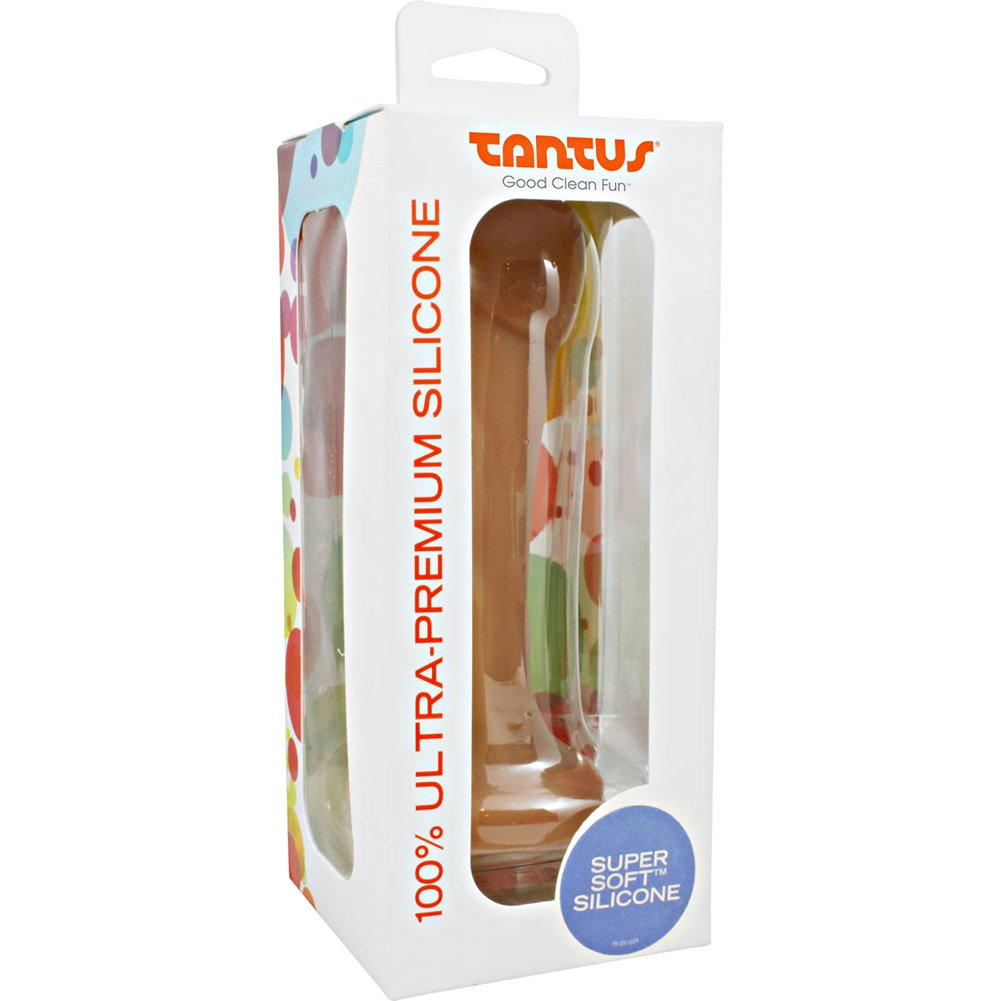 "Tantus Pack N Play 2 Silicone Dong 6.25"" Cocoa - View #1"