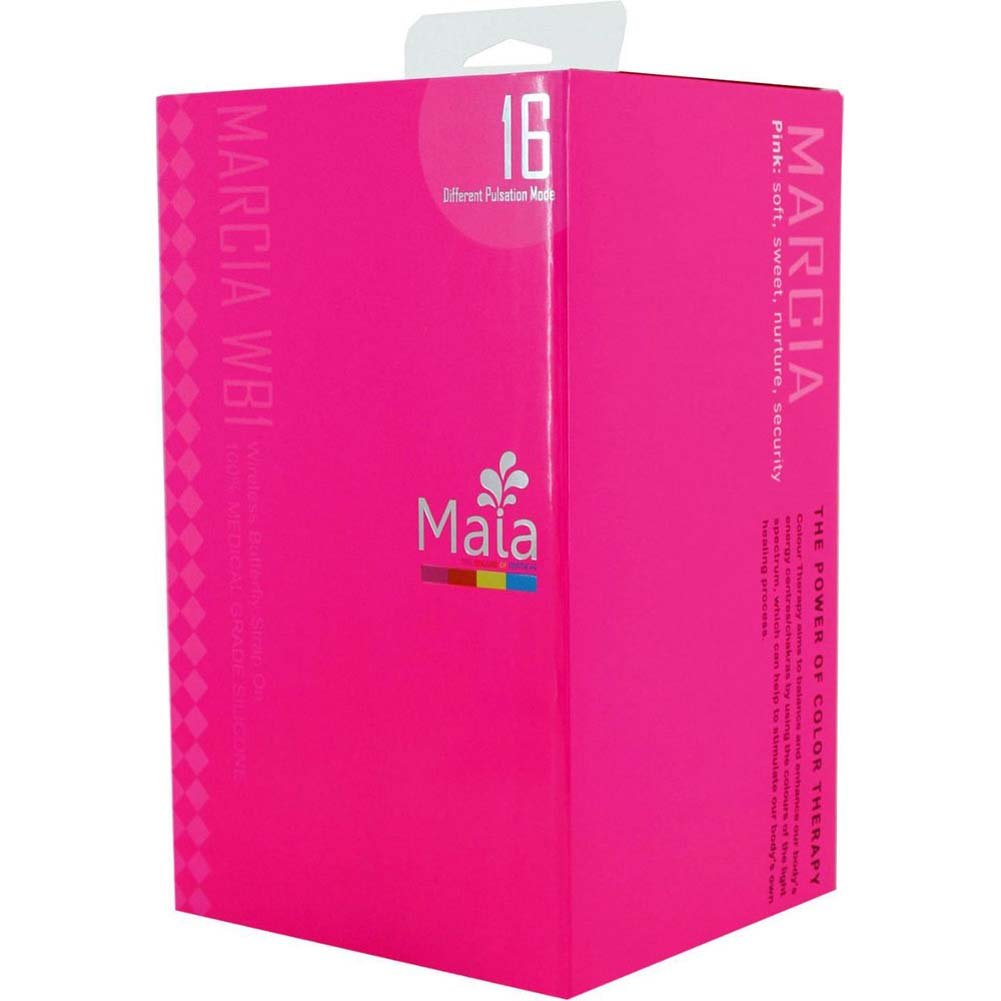 Maia Marcia WB1 Wicked Butterfly Wireless Strap-On Pink - View #3