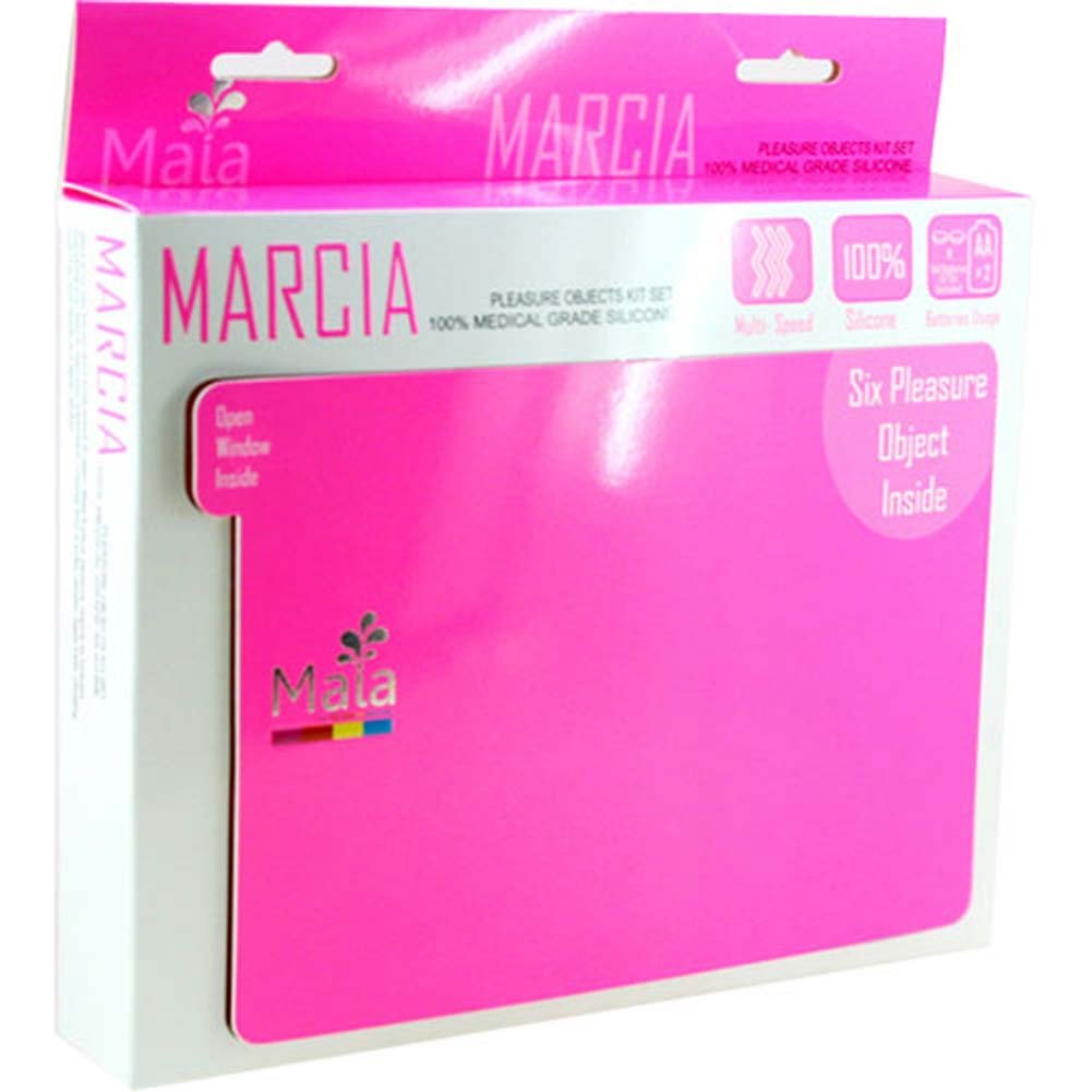 Maia Marcia Silicone Pleasure Objects Kit Neon Pink - View #1
