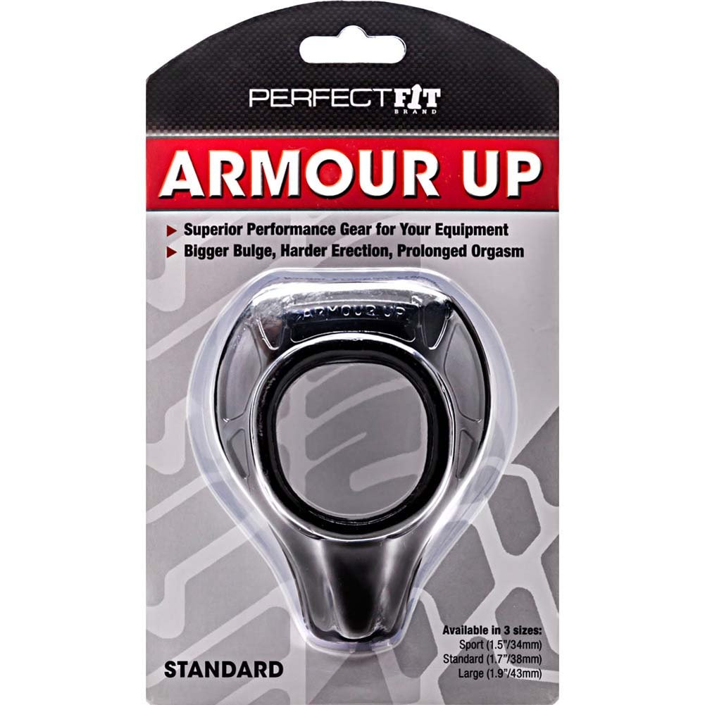 "Perfect Fit Armour Up Standard 1.75"" Black - View #1"