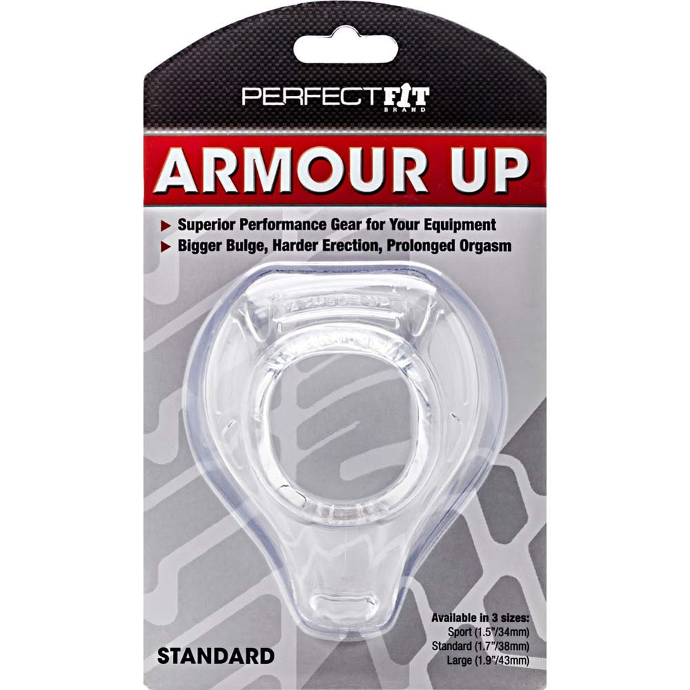 "Perfect Fit Armour Up Standard 1.75"" Clear - View #1"