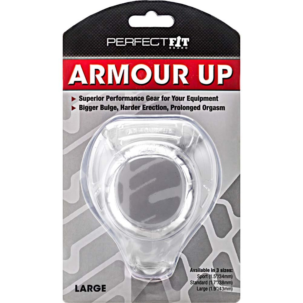 "Perfect Fit Armour Up Large 2"" Clear - View #1"