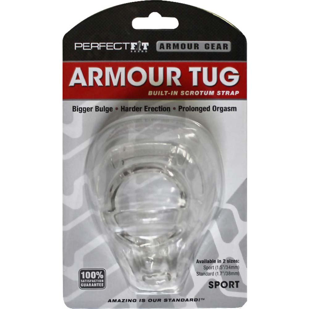 "Perfect Fit Armour Tug Sport 1.5"" Clear - View #1"