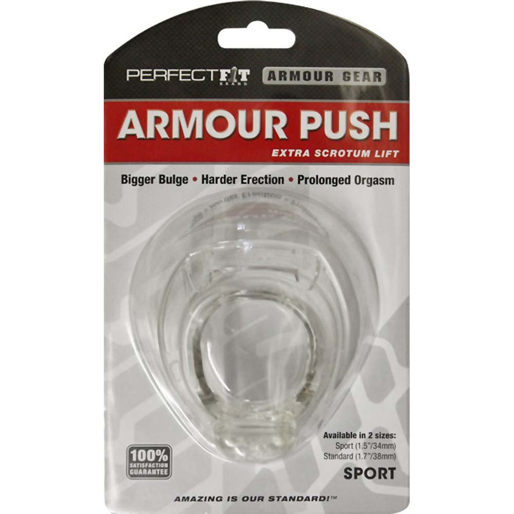 "Perfect Fit Armour Push Sport 1.5"" Clear - View #1"