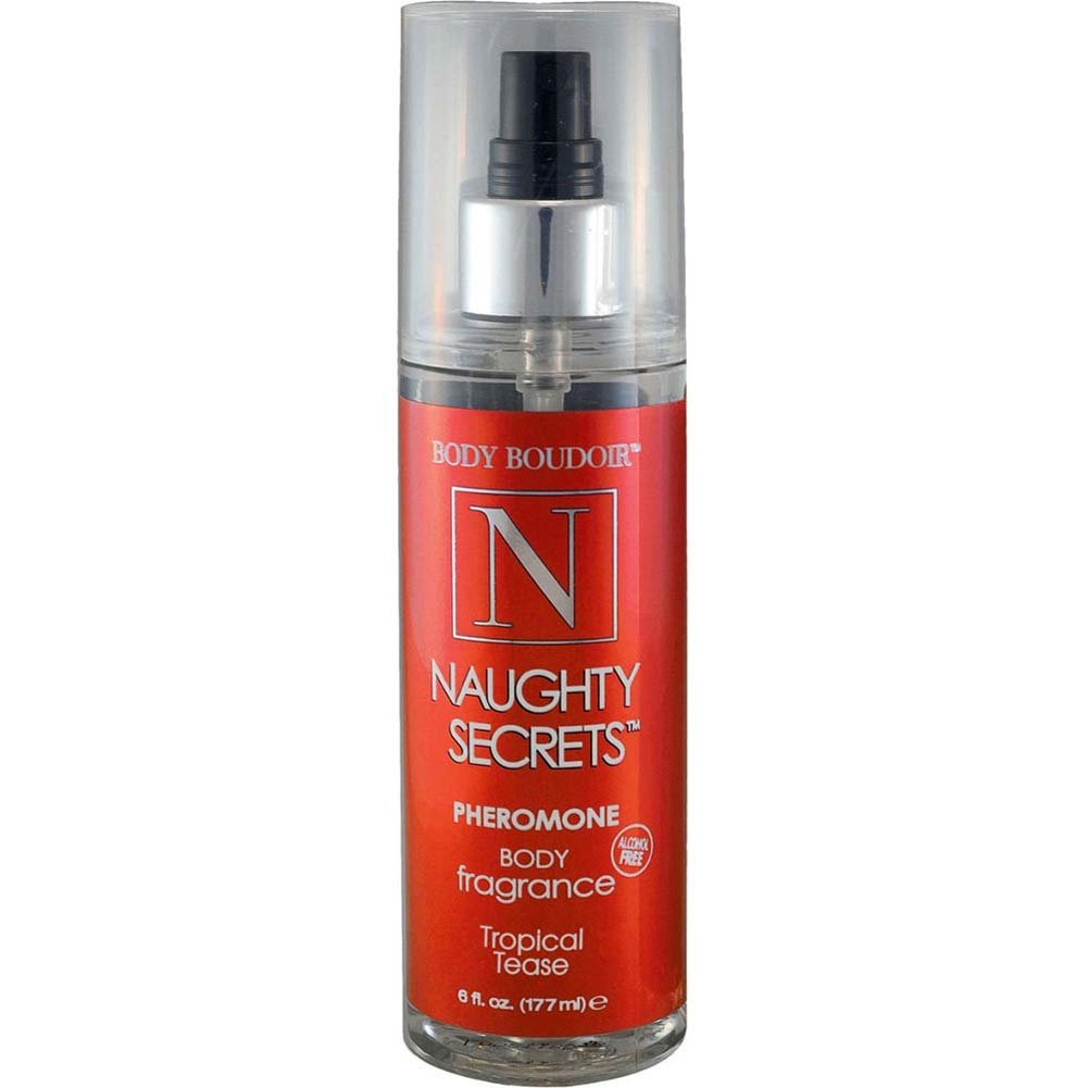 Naughty Secrets Body Mist With Pheromones Tropical Tease 6 Fl. Oz. - View #1