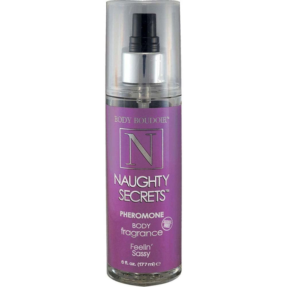 Naughty Secrets Body Mist With Pheromones Feelin Sassy 6 Fl. Oz. - View #1