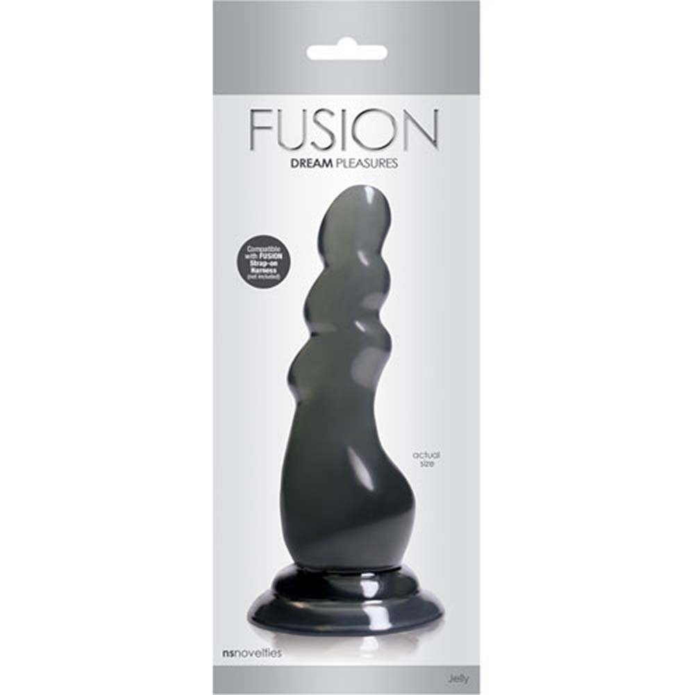 "Fusion Dream Pleasures Dong 6.75"" Charcoal - View #1"