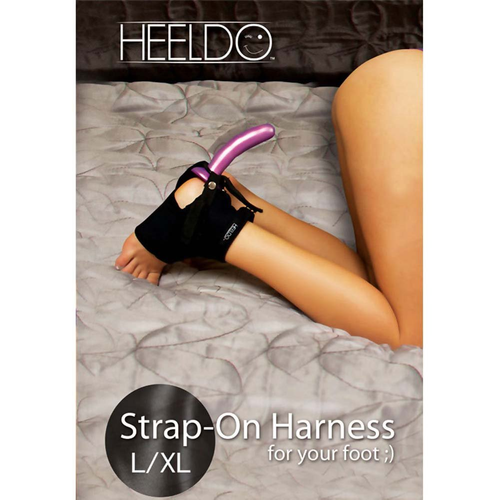 Heeldo Strap-On Harness for Your Foot L-XL Black - View #1