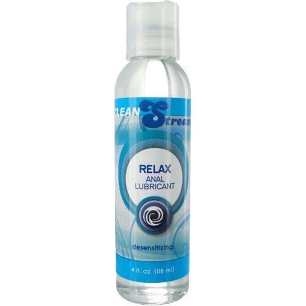CleanStream Relax Desensitzng Anal Lube 4 Fl. Oz. - View #1