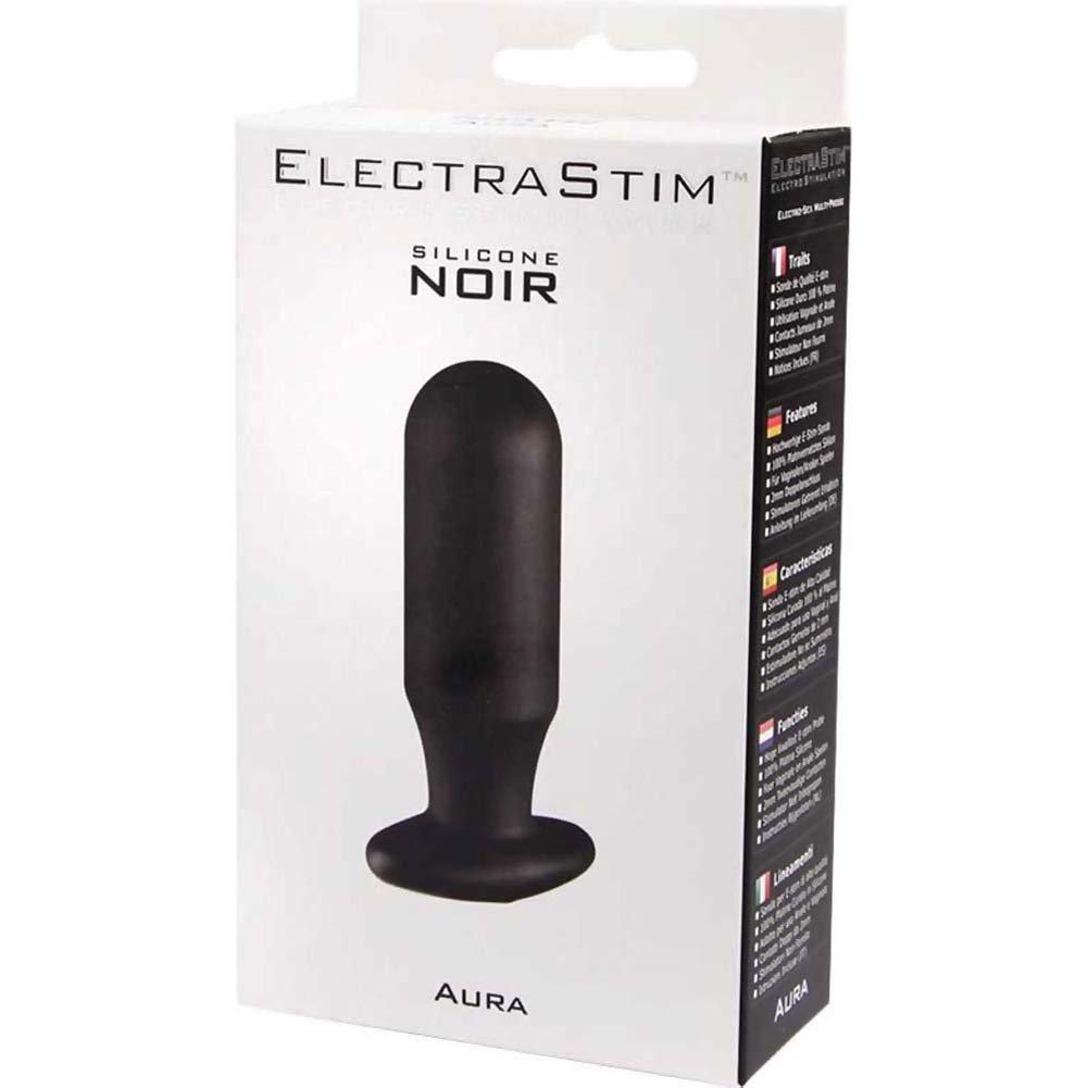 "ElectraStim Silicone Noir Aura Electro Multi-Probe 3"" Black - View #1"