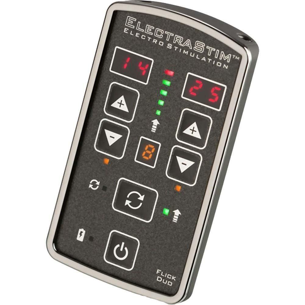 ElectraStim Flick Duo Electro-Sex Stimulator Multi-Pack - View #1