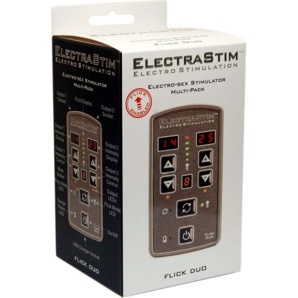 ElectraStim Flick Duo Electro-Sex Stimulator Multi-Pack - View #3