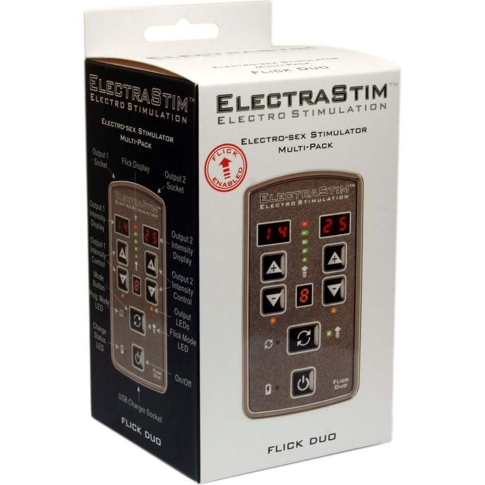 ElectraStim Flick Duo Electro-Sex Stimulator Multi-Pack - View #3